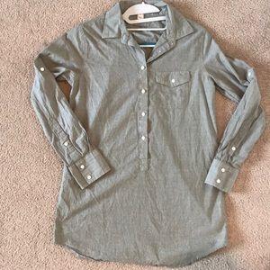 Light green J. Crew tunic - never worn!